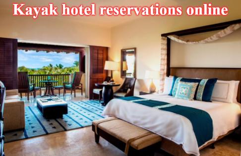 Kayak hotel reservations online