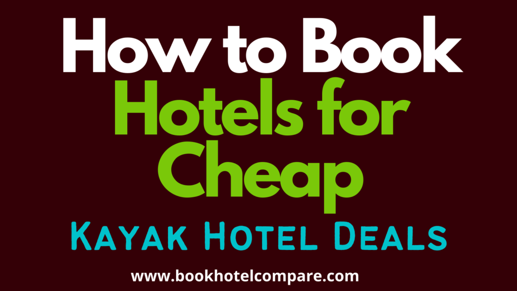 Book Hotels For Cheap