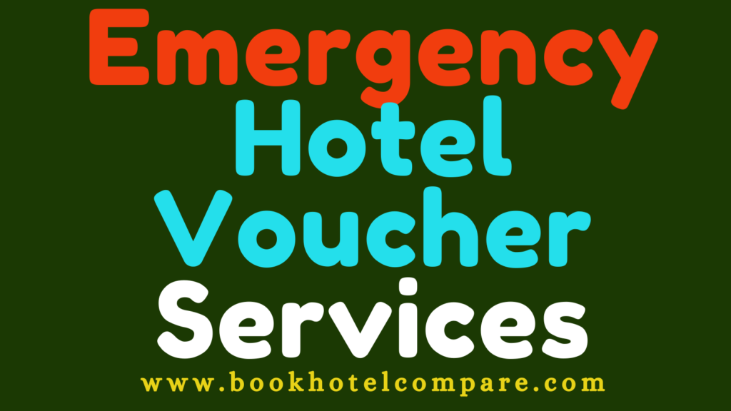 emergency hotel voucher services