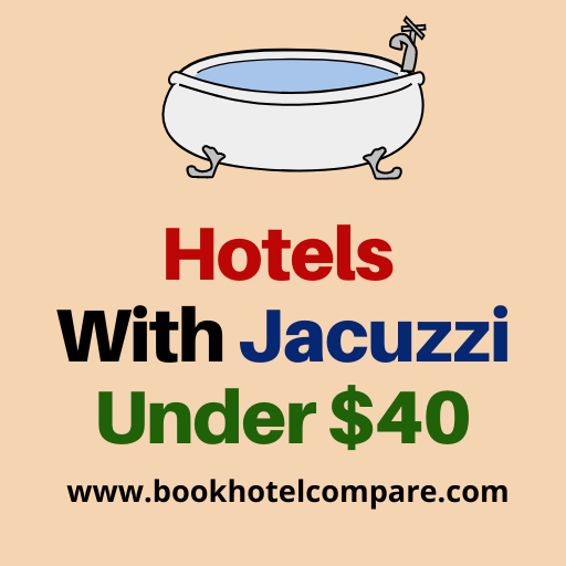 Best Hotels With Jacuzzi Under $40